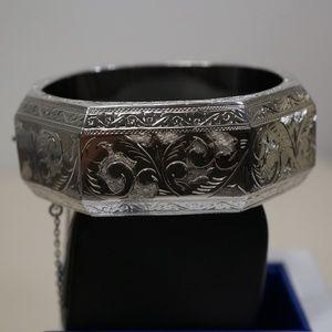 Sterling Silver (.925) Hand Engraved Bracelet